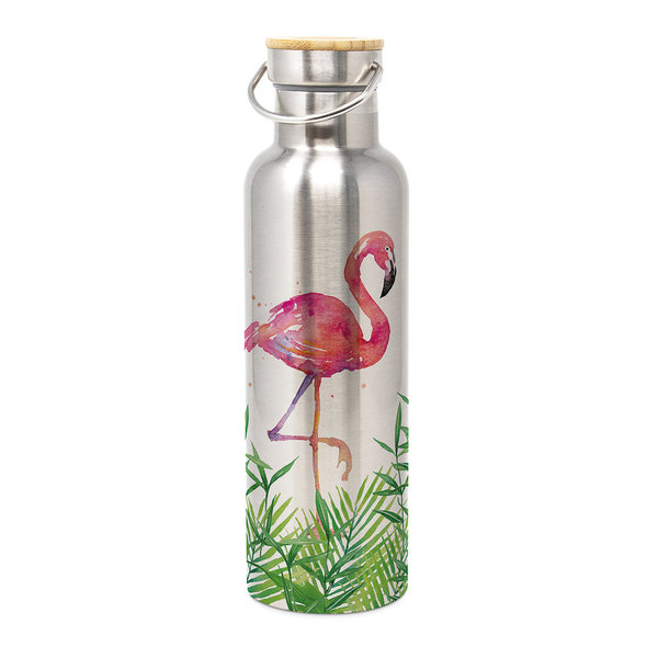 Thermosflasche Flamingo